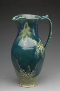 gallery_full_pitcher_tall_teal_floral